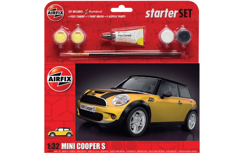 Airfix 1/32 Mini Cooper Starter Set