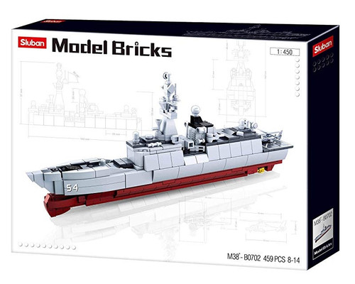 Sluban Frigate Ship B38 -B0702