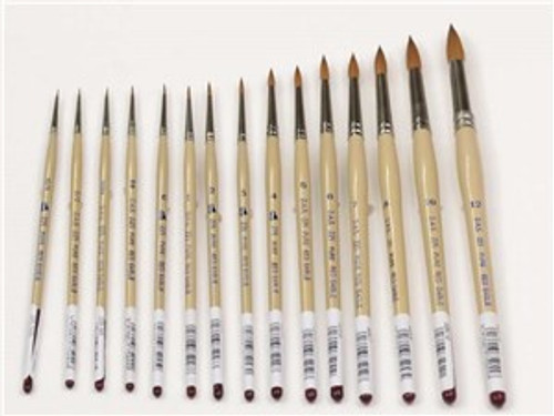 DAS Series 225 Red Sable Brushes