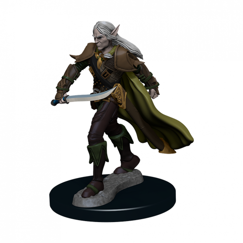 Pathfinder Battles Premium Painted - Elf Fighter Male