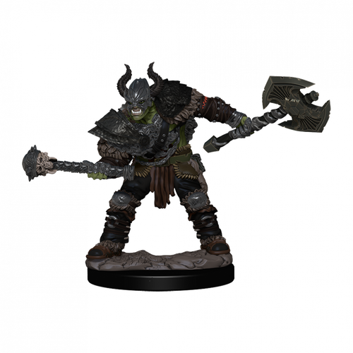 Pathfinder Battles Premium Painted - Half-Orc Barbarian Male