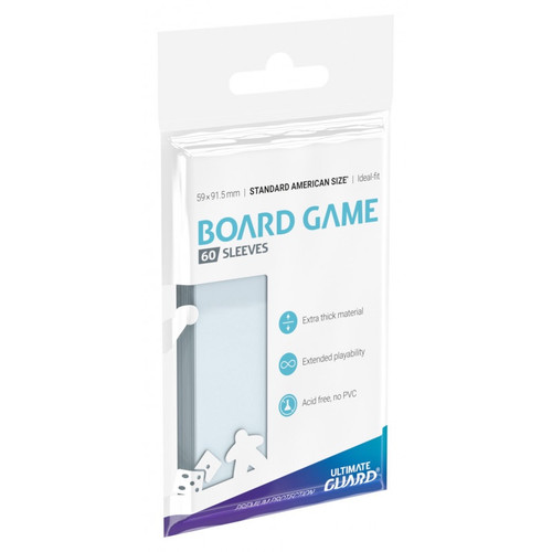 Board Game Sleeves - Standard American Board Game