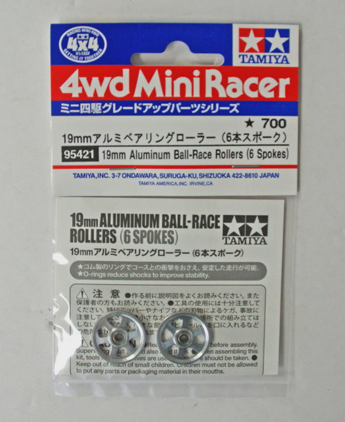 Aluminum Ball-Race Rollers (6 Spokes)