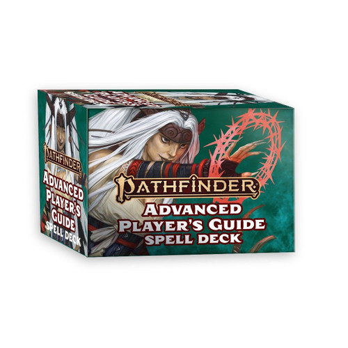 Pathfinder 2nd Edition Spell Cards - Advanced Player's Guide