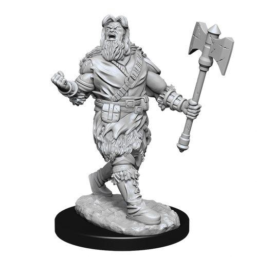Dungeons & Dragons Nolzur's Marvelous - Human Barbarian Male