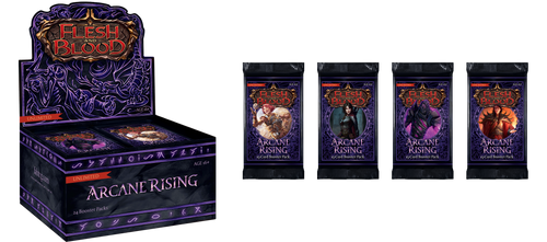 Flesh & Blood TCG: Arcane Rising - Booster Pack (Unlimited Edition)