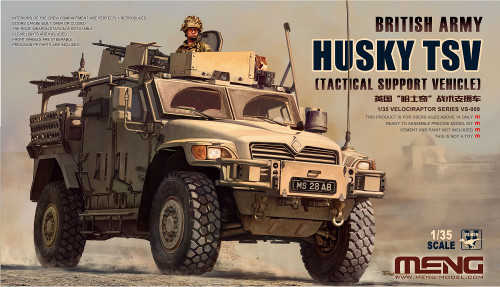 Meng 1/35 Husky TSV British Army Tactical Support Vehicle