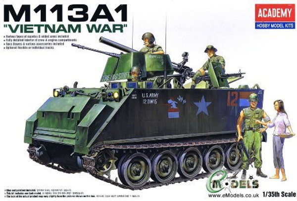 Academy 1/35 M113A1 Vietnam Version