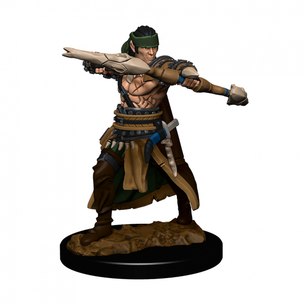 Pathfinder Battles Premium Painted - Half-Elf Ranger Male