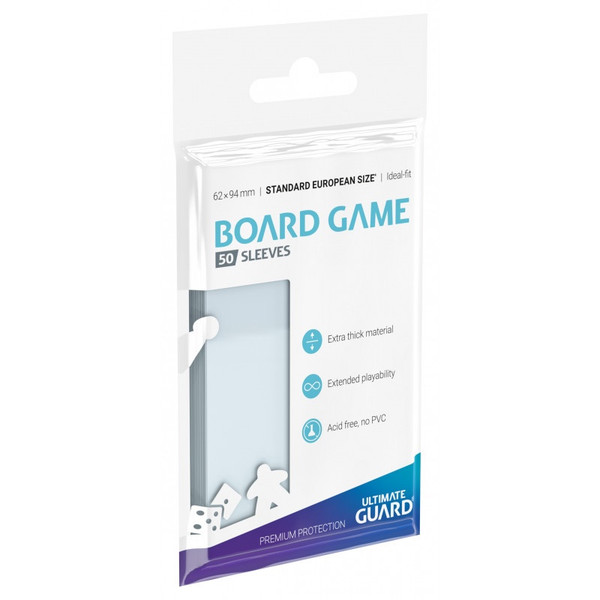 Board Game Sleeves - Standard European Board Game