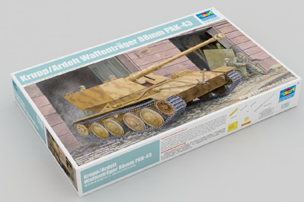 Trumpeter 1/35 German standard chassis PAK43 88mm self-propelled anti-tank gun