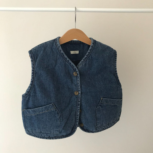 Jean Relaxed Vest