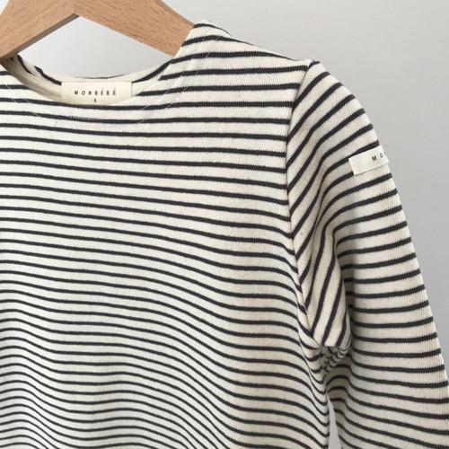 Stripe Tee-Black