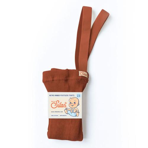 Footless tight -   cinnamon