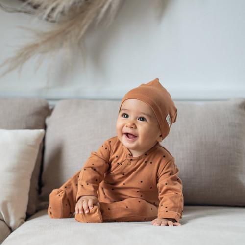 BABYSUIT - DOTS NUT