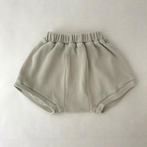 waffle oversize shorts soft sky colour