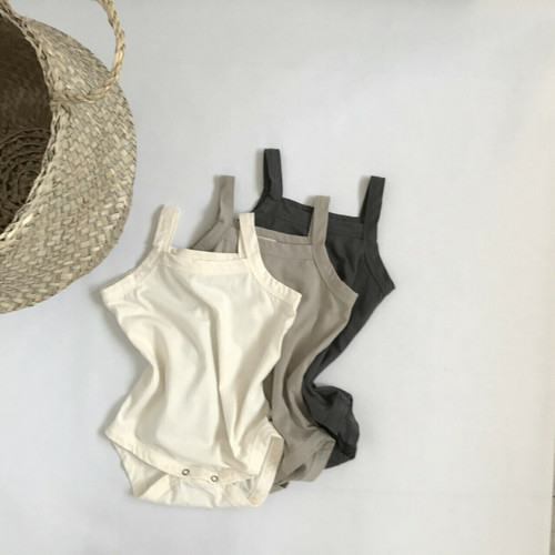 Bodysuit, thick straps, square neckline , ivory, mocha  , charcoal.