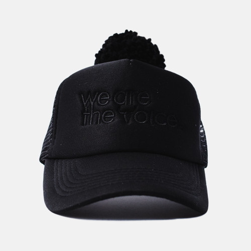 we are the voice, cap, hat, booso, black, summer hat, babylution, eshop, kids, clothes, accessories
