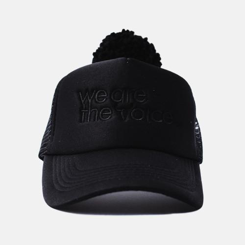 we are the voice, cap, hat, booso, black, summer hat, babylution, eshop, kids, clothes, accessories