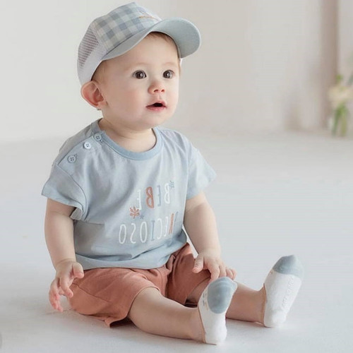 ronan, boy, cute, prince, brown, blue, sky blue, set, easywear, everyday, cristening, babylution