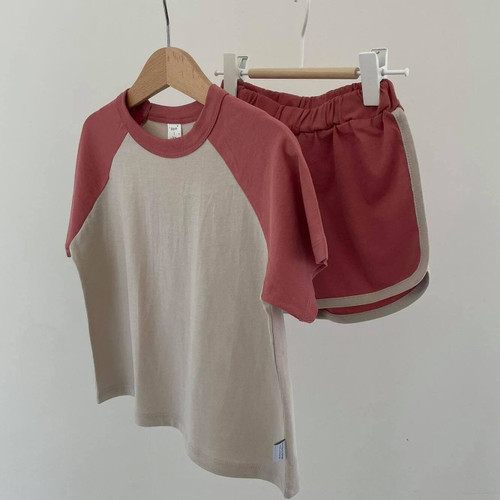 Two Color Retro set - Deep Red