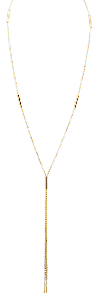 18K Gold Plated Single Strand Necklace - Stevie Wren Fine Jewelry