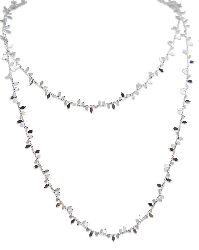 Delicate Leaf 925 Sterling Silver Necklace - Stevie Wren Fine Jewelry