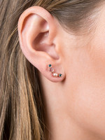 Ear Vines with Gems and Diamonds