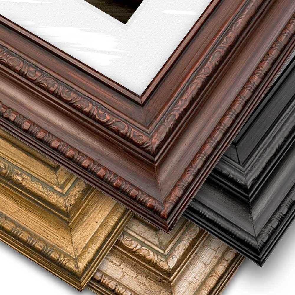 Ornate Frame, Matted