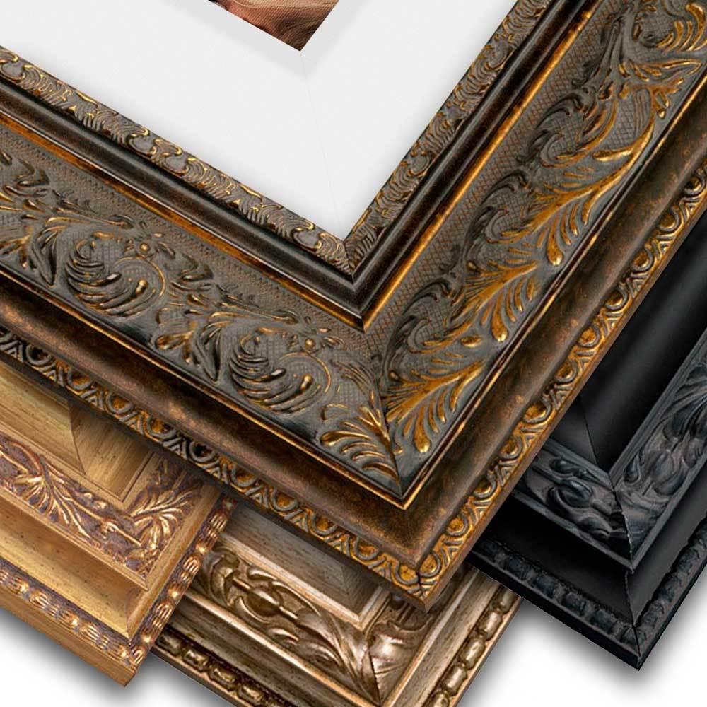 Ornate Frame, Canvas w/Liner