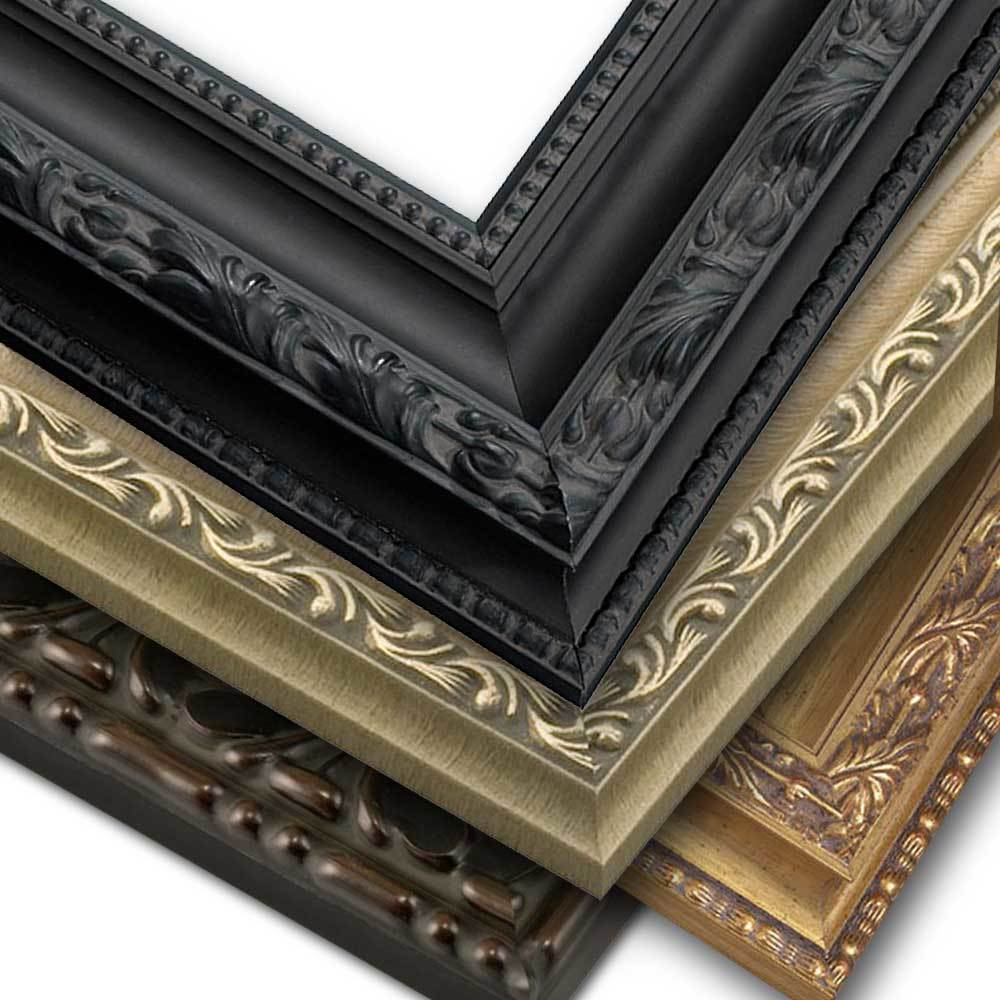 Frame Only, Ornate Style Wide