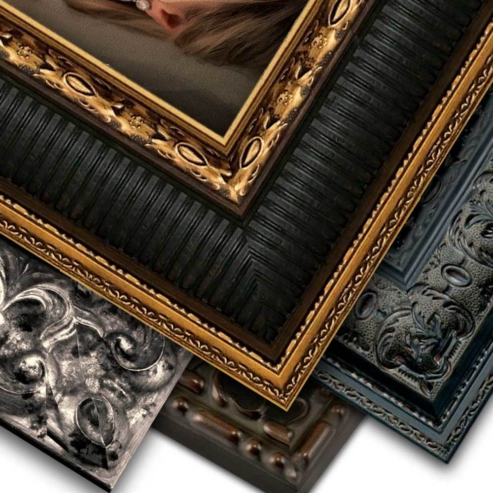 Ornate Frame, Canvas