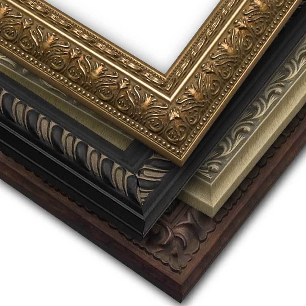Frame Only, Ornate Style Narrow