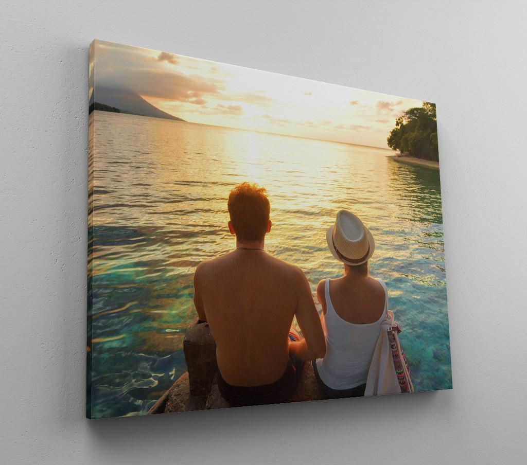 print photographs on canvas