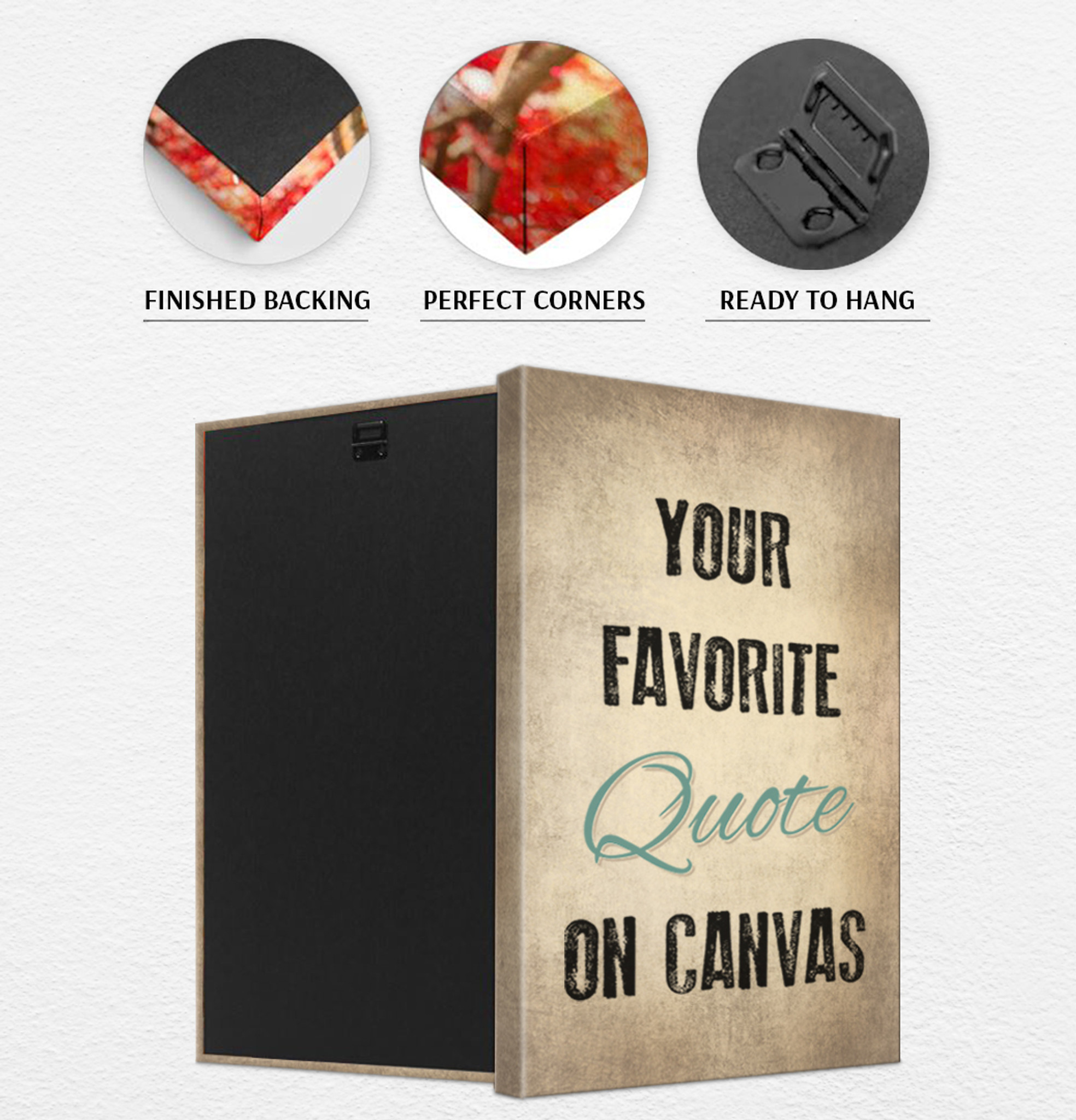 Make Your Own Quotes | Custom Canvas Art And Custom Quote Prints