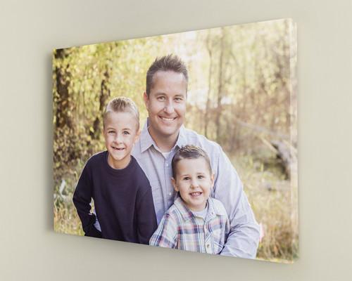 print family photos on canvas