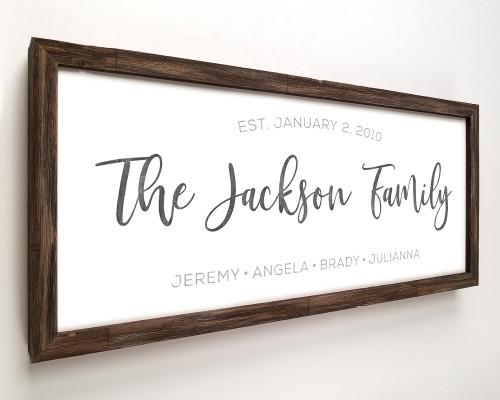 farmhouse wedding sign