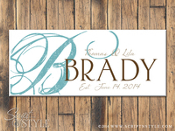 Personalized Family Established Signs-Customize Your Next Gift!