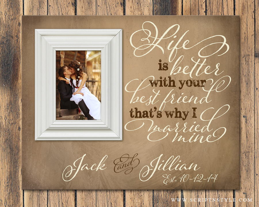 Personalized Picture Frame Life Is Better With Your Best Friend