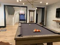 Isaac 8' Pool Table  w/Premium Billiard Accessories