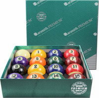 Premium Pool Table Balls at Sawyer Twain