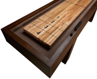 Rustic Shuffleboard Table with a modern design by American Heritage Billiards