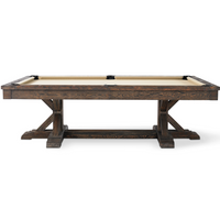 Thomas Pool Table by Plank & Hide. Includes FREE SHIPPING!