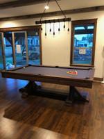 Thomas Pool Table w/Dining Top & Premium Billiard Accessories