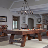 Rustic Pool Table by American Heritage