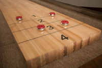 Quality Crafted Billiards Table Ready For Game Time