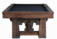 Farmhouse Pool Table with Slate