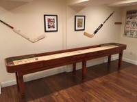 Premium Shuffleboard Table designed in the USA by Venture