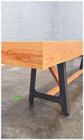 Industrial Shuffleboard Table handmade in the USA!