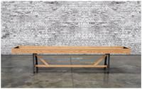 Astoria Shuffleboard Table is handmade in the USA by Venture Shuffleboard!